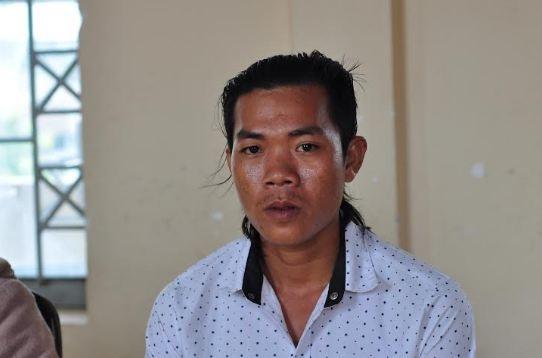 Anh Nguyễn Tấn Đại tại buổi xin lỗi