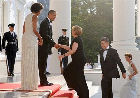 Thủ tướng Đức làm thượng khách tại Nhà Trắng  - 2