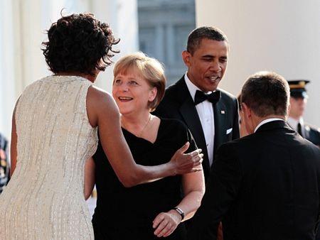 Thủ tướng Đức làm thượng khách tại Nhà Trắng  - 3