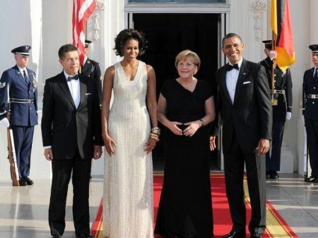 Thủ tướng Đức làm thượng khách tại Nhà Trắng  - 5