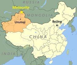 Phát hiện tảng thiên thạch khổng lồ nặng 25 tấn ở Trung Quốc - 5