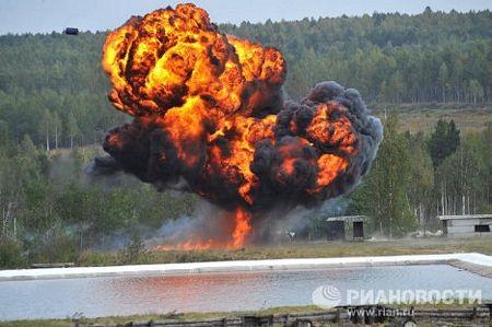 """Nga """"khoe"""" thiết bị quân sự tại triển lãm vũ khí - 1"""