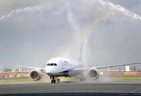"""Boeing chuyển giao """"siêu cơ"""" Dreamliner đầu tiên - 1"""