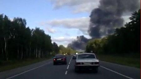 Hiện trường vụ tai nạn máy bay làm 43 người chết tại Nga  - 3