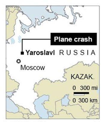 Hiện trường vụ tai nạn máy bay làm 43 người chết tại Nga  - 1