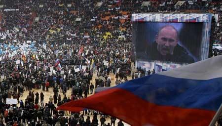 Putin dự báo chiến thắng trong cuộc đua sắp tới - 2