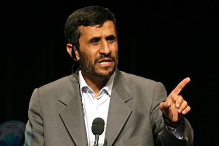Tổng thống Iran Mahmoud Ahmadinejad.