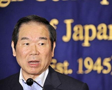 Đặc phái viên Fukushiro Nukaga.