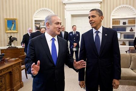 Tổng thống Obama và Thủ tướng Netanyahu gặp nhau tại Nhà Trắng hồi năm 2009.