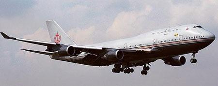 Chiếc Boeing 747 của Quốc vương Brunei.