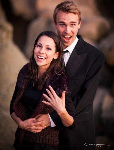 Cặp đôi Matt-Lis đã có một màn cầu hôn đáng nhớ.