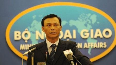 Người phát ngôn Bộ Ngoại giao Việt Nam Lương Thanh Nghị