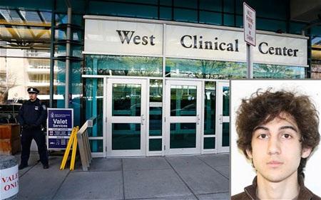 Dzhokhar hiện đang được điều trị tại bệnh viện Beth Israel Deaconess ở Boston.