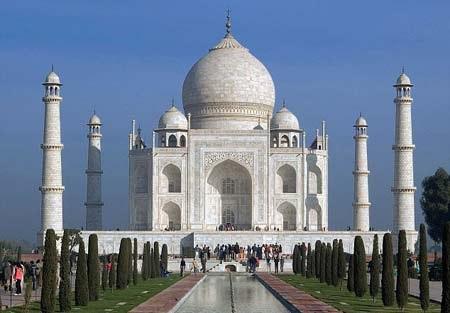 LăngTaj Mahal nổi tiếng của Ân Độ.