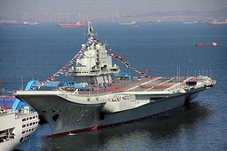 Tàu sân bay Liêu Ninh của Trung Quốc.