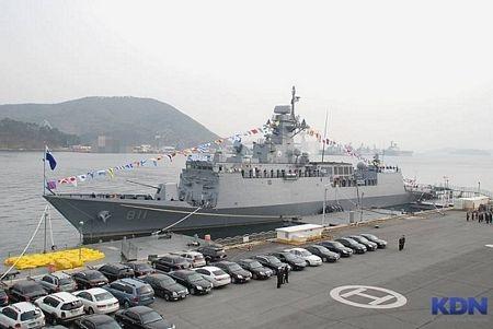 Tàu hộ vệ tên lửa lớp Incheon của Hàn Quốc