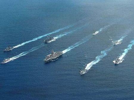 Mỹ có 12 cụm tàu sân bay xung kích hoạt động trên khắp các đại dương