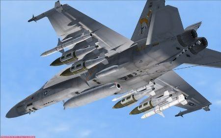 Tiêm kích đa nhiệm F/A-18E Super Hornet.