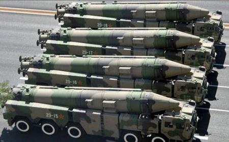 Tên lửa Đông Phong-21D của Trung Quốc có khả năng mang vũ khí hạt nhân.