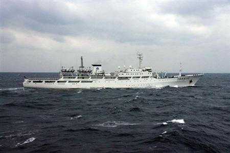 Tàu hải giám Trung Quốc thường xuyên tiến vào hải phận Senkaku/Điếu Ngư.