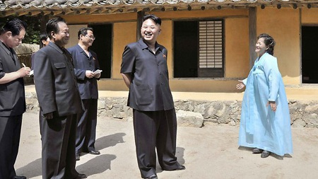Nhà lãnh đạo Kim Jong-un thăm địa điểm cách mạng Yuphyong tại tỉnh Bắc Phyongan hôm 16/6.