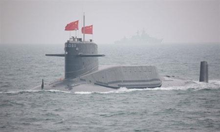 Tàu ngầm nguyên tử của hải quân Trung Quốc