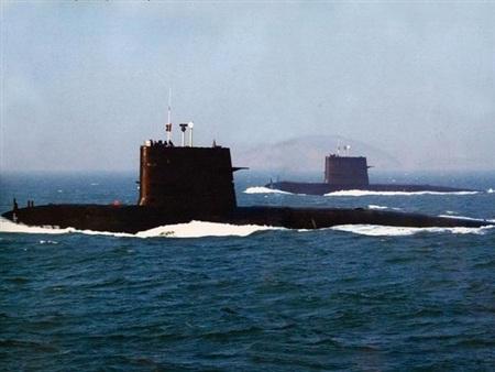 Tàu ngầm lớp Tống của hải quân Trung Quốc.