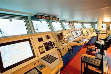 Phòng chỉ huy và điều hành tác chiến của tàu phòng không tên lửa 20380.