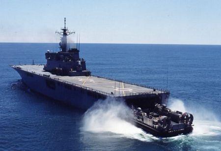Tàu vận tải đổ bộ JS Shimokita (LST 4002)