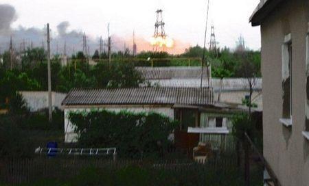Nga: Nổ kho vũ khí chứa 6.000 quả đạn pháo