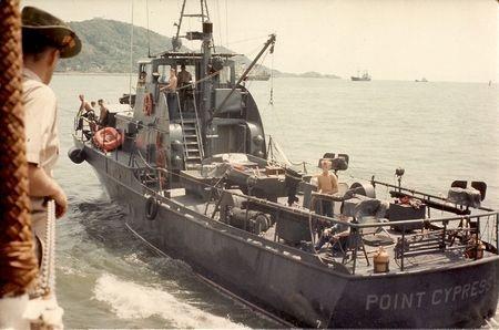 Một tàu của Mỹ đang tại Vũng Tàu năm 1967.