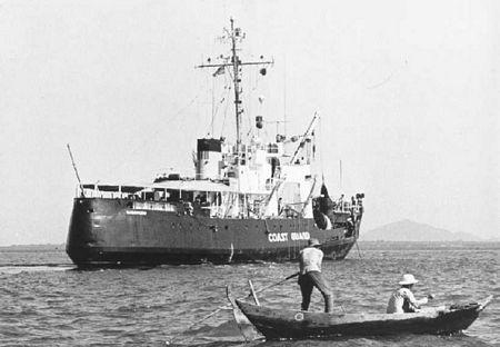 Mộttàu của Mỹ ở Vũng Tàu năm 1967.
