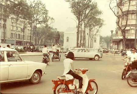 Trung tâm Sài Gòn năm 1967.