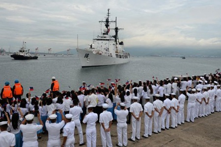 Philippines nhận tàu chiến thứ 2 từ Mỹ, quyết tăng cường tuần tra trên biển