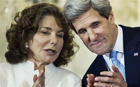 Vợ chồng Ngoại trưởng Mỹ John Kerry.