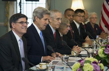 Các quan chức Mỹ tham gia Dối thoạiKinh tế và Chiến lượcMỹ-Trung.