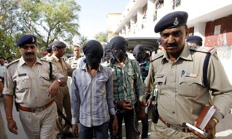 Các nghi phạm bị bắt giữ hồi tháng 3.