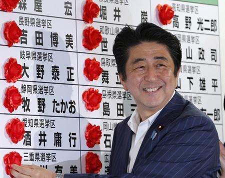 Chiến thắng ở Thượng viện sẽ giúp Thủ tướng Shinzo Abe có được một chính phủ ổn định.