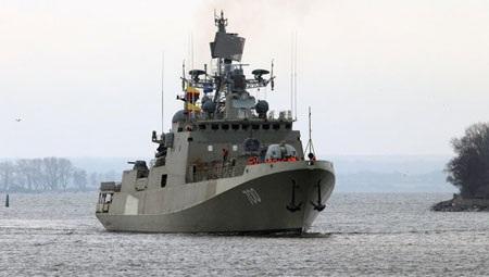 Tàu chiến lớp Trikand do Nga chế tạo.