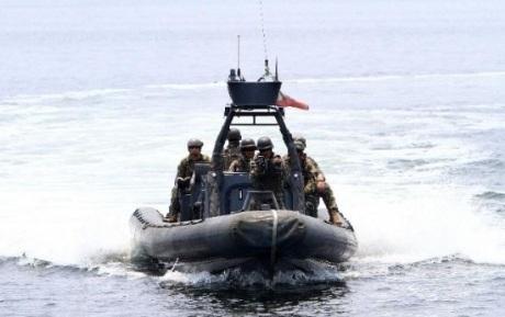 Binh lính Mỹ và Philippines vừa tiến hành tập trận hải quân hồi tháng trước. .