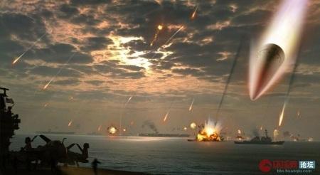Trung Quốc đã và đang ráo riết phát triển vũ khí nhằm tiêu diệt các đội tàu sân bay Mỹ.