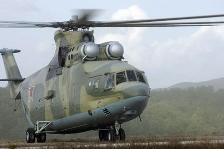 Trực thăng Mi-26 của Nga.