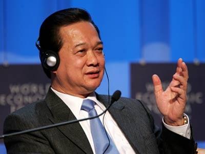 Thủ tướng Việt Nam Nguyễn Tấn Dũng (Ảnh AFP).