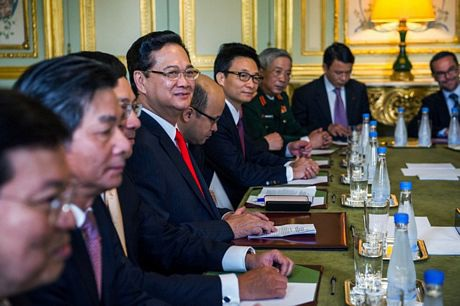 Cuộc hội kiến diễn ra tại điện Elysee.