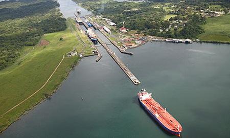 Kênh đào Panama. Ảnh: Guardian