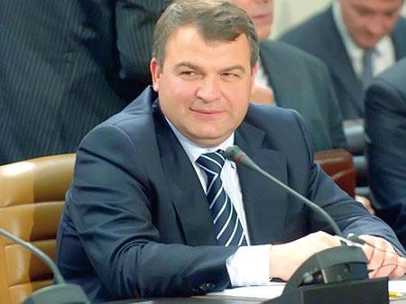 Cựu Bộ trưởng quốc phòng Anatoly Serdyukov.