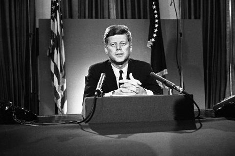 Tổng thống JFK năm 1963.