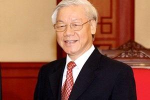 Tổng Bí thư Ban Chấp hành Trung ương Đảng Cộng sản Việt Nam Nguyễn Phú Trọng. (Nguồn: TTXVN)