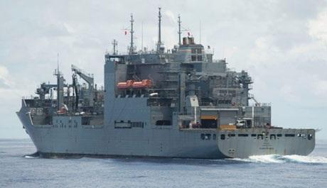... tàu tiếp tế USNS Charles Drew cũng được điều động cho chiến dịch cứu trợ tại Philippines.