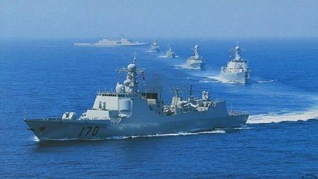 Hiện hải quân Trung Quốc lần đầu tiên bước vào giao đoạn IOC